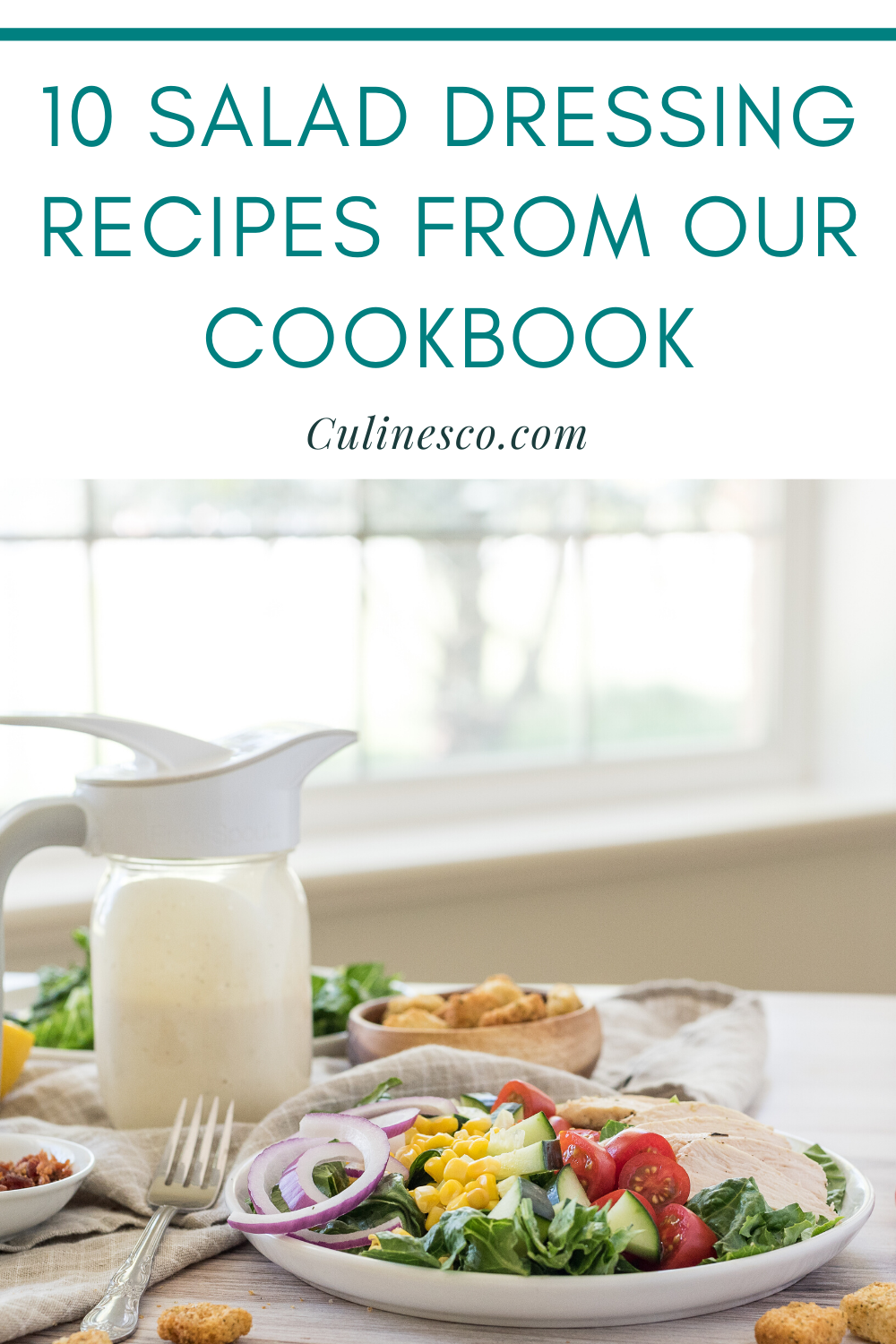 Get a sneak peak of the salad dressing recipes in our cookbook made just for the Ergo Spout®. These 10 recipes will have you begging to eat your greens!