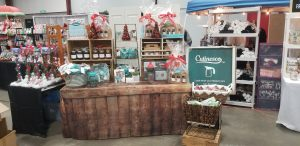 Photo of booth with Culinesco products