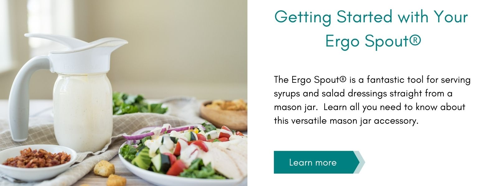 Getting Started with your Ergo Spout